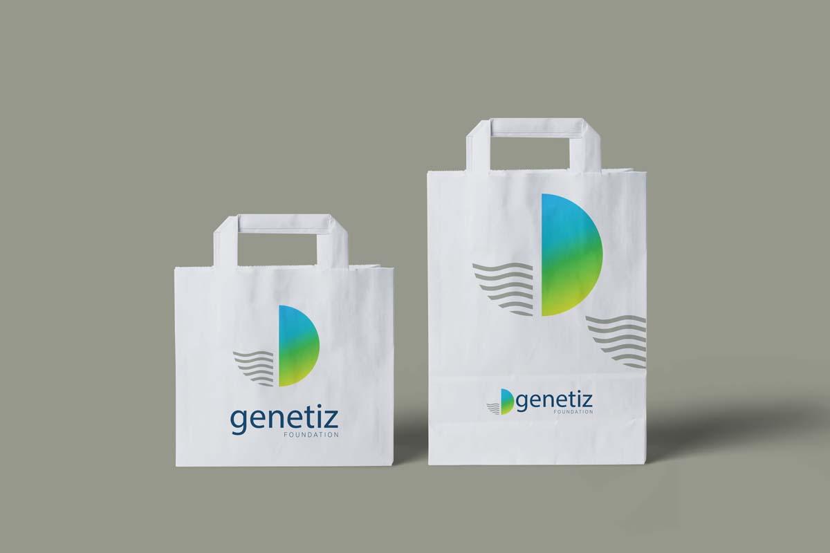 Genetiz Foundation carry bag design