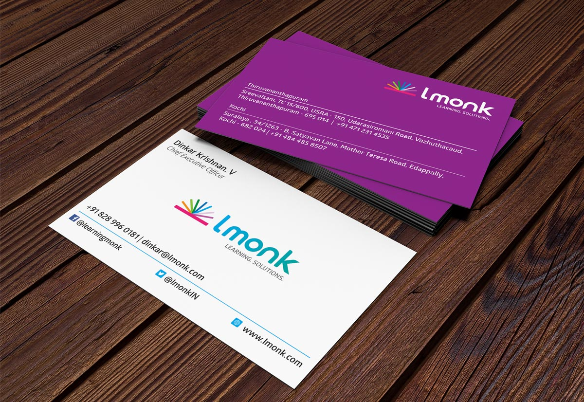 Lmonk Business card