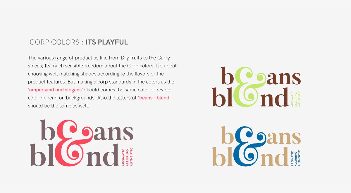 Beans & Blend logos