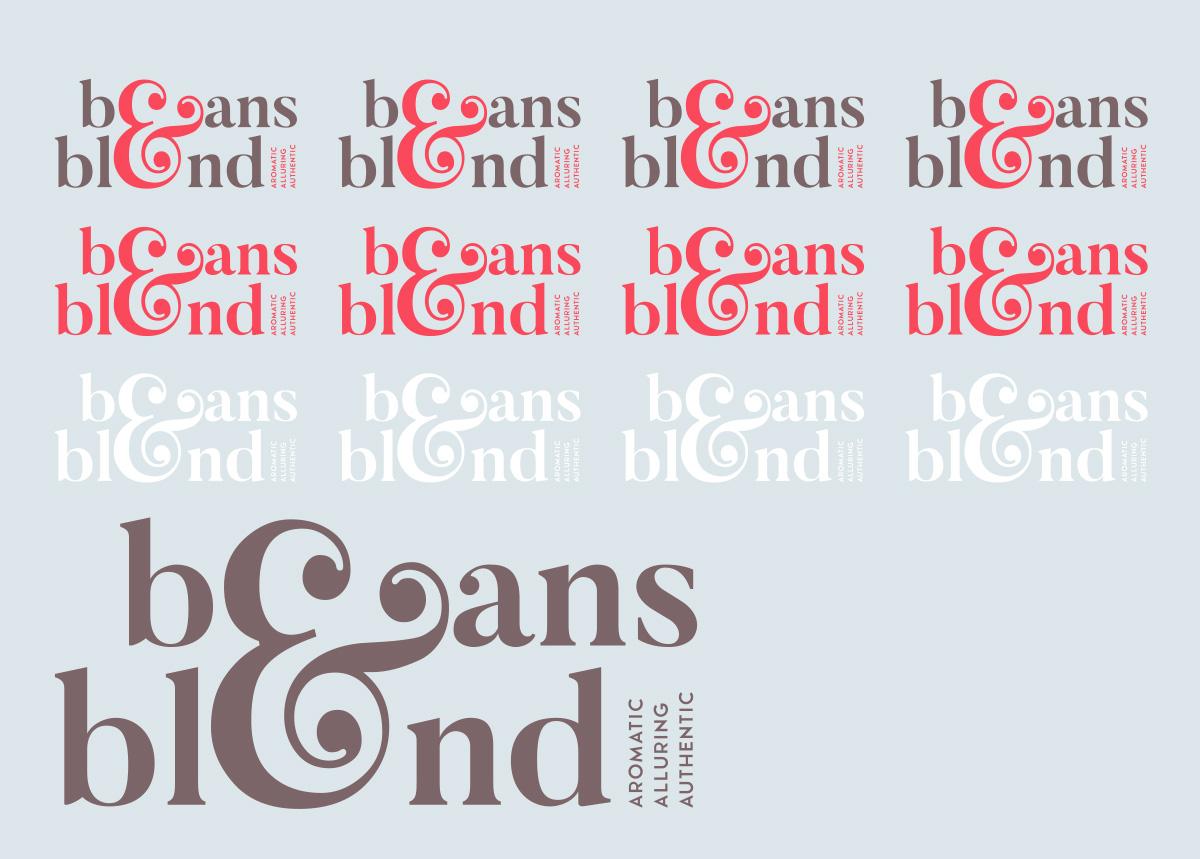 Beans & Blend logo